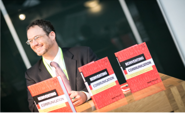 book signing at dutch book launch - IPMA 2014