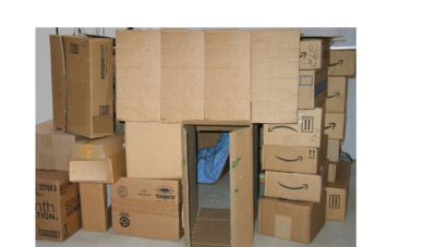 A box fort